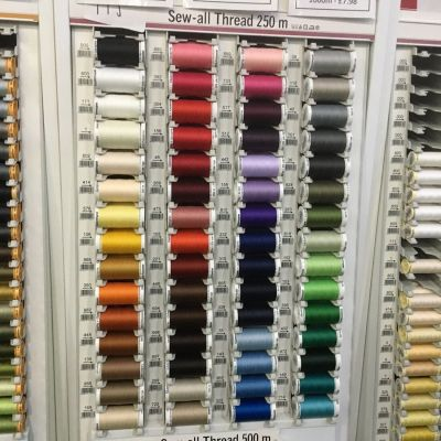Gutermann 250m Sew-All Polyester Sewing Thread - Colour 417